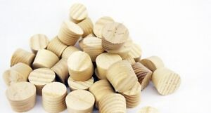 12mm American White Ash Tapered Pellets/Plugs