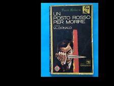 JOHN D. MACDONALD: UN POSTO ROSSO PER MORIRE