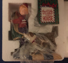 """Dept 56 """"All Through the House"""" Nicholas Hanging Coat"""