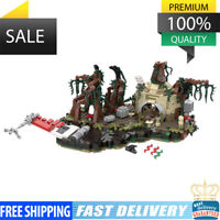 MOC-19522 Dagobah playset 792 PCS Good Quality Bricks Building Blocks Toys