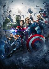 Avengers 2 Age of Ultron Movie Poster (24x36) - Marvel, Iron Man, Black Widow v4