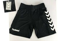 Hummel Boys Core Shorts Age 10/12 yrs H140-152 Black Elastic Waist Lightweight