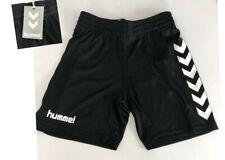 ef106e05d Hummel Boys Core Shorts Age 10 12 Yrs H140-152 Black Elastic Waist  Lightweight
