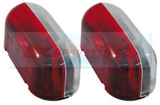 2x Jokon SPL2000 rojo blanco Luces de las lámparas de posición laterales transparentes Caravan Fiat Autocaravana