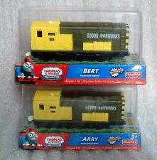 New boxed Thomas & friend Battery train trackmaster Arry and Bert