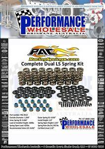 PAC Racing 1905 Dual Valve Spring Kit 0.650 Lift LS1 LS2 LS3 L98 VT VY VZ VE VF