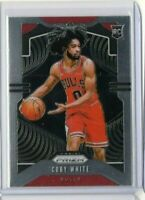 2019-20 Coby White Panini Prizm RC #253 Rookie Card Chicago Bulls NBA