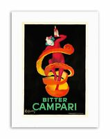 BITTER CAMPARI. 1921 HOME DECOR Poster Advertising Canvas art Prints