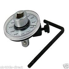 """360 ° 1//2/"""" Lecteur Torque Angle Gauge Meter Angle Rotation doseuse clé dynamométrique"""