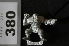 GAMES Workshop BLOOD BOWL ORC CHUCKER ORCS TEAM metallo MINT NUOVO Bloodbowl fuori catalogo A1