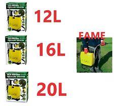 12L 16L 20L KNAPSACK PRESSURE SPRAYER WATER SPRAY BOTTLE BACKPACK WEED KILLER
