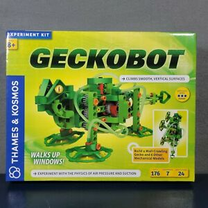 Thames & Kosmos Geckobot Experiment Kit New in Box Build a Wall Crawling Gecko