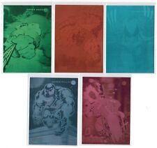 1992 MARVEL UNIVERSE SERIES III 3 HOLOGRAM COMPLETE 5 CARD SET #H1-H5 IMPEL