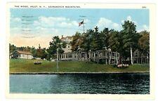 Vintage Old Postcard NEW YORK Lakewood Lake Chautauqua Green Farm Cappagallo Inn