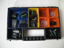 8 x DELPHI Metri Pack Stecker Set 1- 4-polig waterproof + Box für Auto Motorrad