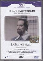 2 Dvd Box Sceneggiati Rai DELITTO DI STATO Brigliadori Giordana completo 1982