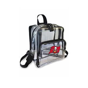 "Football Tampa Bay Buccaneers Mini Clear Stadium Backpack 10"" x 3"" x 8"" Licensed"