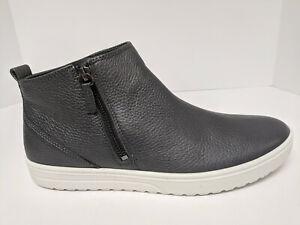 ECCO Fara Ankle Zip Boots, Magnet Metallic, Womens 43 EU (US 12-12.5)