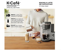 Keurig K-Cafe Special Edition Single Coffee Latte Cappuccino Maker (New in Box)