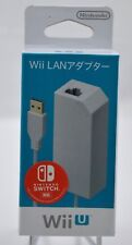 Brand NEW Nintendo LAN Adapter Japan Wii U / SWITCH Region Free