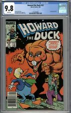 Howard the Duck #32 CGC 9.8 NM/MT Newsstand Variant 1st Issue Since 5/79 WHITE