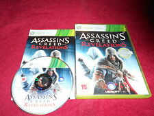ASSASSINS CREED REVELATIONS MICROSOFT XBOX 360