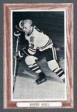 1964-67 Beehive Hockey Premium Group 3 Photo Chicago Blackhawks #41D Bobby Hull