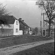 B/W 6x6 Negative Great Bedwyn Wiltshire Village Scene 1950 +Copyright Z803