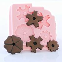 Silicone Mold Flexible Push mold for Polymer Clay Casting Mold for Resin  (830)