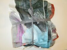 West Elm Tencel King Duvet Artist's Palette New without tag