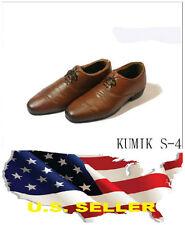 ❶❶1/6 kumik women oxford shoes booties S-4 Phicen hot toys US seller❶❶