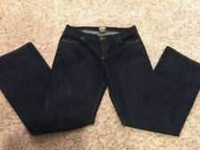 Gap Curvy Flare Leg Dark Blue Jeans Women Size 12/31 Stretch Excellent