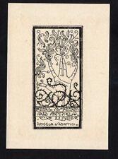 39)Nr.092-EXLIBRIS, B. Serra - Per Aspera ad Astra
