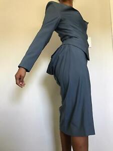 Vivienne Westwood Red Label Ladies Suit - 42 (6 8) 2000s Steampunk Bustle
