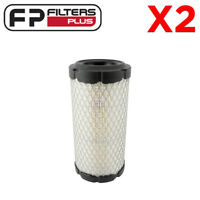 2 x RS3715 Baldwin Air Filter - Onan, Toro, John Deere, Cat - AF25550, P822686