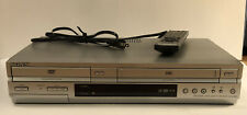 Sony SLV-D350P DVD VHS Player HiFi VCR Combo TESTED Works OEM Remote Included