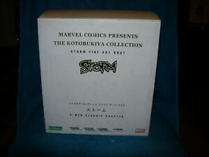 MARVEL KOTOBUKIYA COLLECTION STORM FINE ART BUST X-MEN CLASSIC LTD 644 of 1500