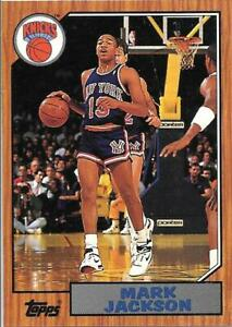 Mark Jackson Rookie Topps Archives