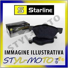 PASTIGLIE ANTERIORI STARLINE BD S201 RENAULT MASTER 2.5 T28 84 KW BOS 2004
