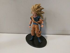 Dragon Ball Z Battle Damage Super Saiyan 3 GOKU Statue Figure