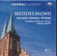 Choral Classics Mendelssohn Sacred Choral Works box CD NEW Europe Chamber Choir