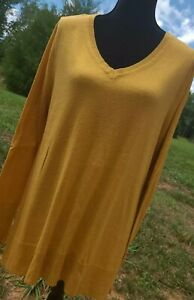 The Limited Women's Mustard Yellow Soft Comfy Sweater XL Size Extra Large