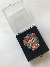 "2000 Buffalo Bills Season Ticket Holder ""Feel The Power"" Collectible Pin"