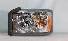 Left Side Replacement Headlight Assembly (w/o Black) For 2006-2007 Dodge Dakota