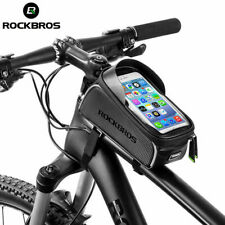 ROCKBROS MTB Road Bike Bicycle Bags Top Front Tube Frame Bags 6.0'' Phone Case