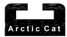 "UHMW Hyfax Slides for Arctic Cat 66"" long - pair - GRAPHITE"