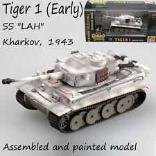 WW2 German Tiger 1 tank model SS 1943 Kharkov winter camouflage 1/72 Easy model