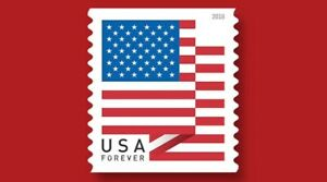 2018 US 1Rolls of 100 American Flag 55¢ FOREVER - Unopened! USA FREE SHIPPING