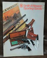 Smith and Wesson 1974 Sporting Goods Catalog, NOS