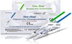Lot 15 Test Ovulation Bandelette 20mIU/mL Et 5 Test Précoces Grossesse 10 mIU/mL